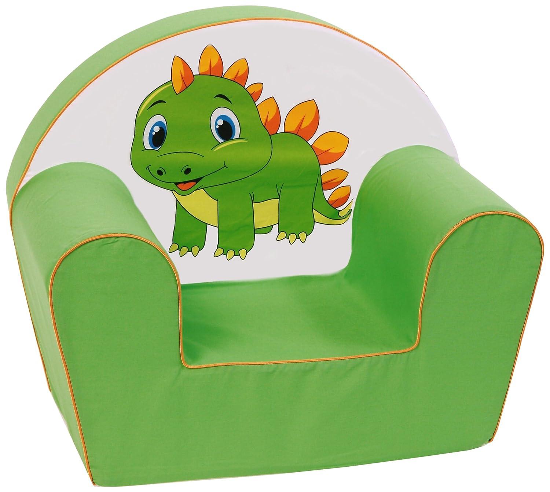 Knorr-Baby 490203 Fauteuil pour enfant Motif/ dragon Vert