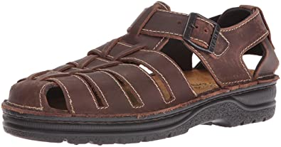 53ddc8208235 NAOT Men s Julius Fisherman Sandal Brown 45 EU 12 ...