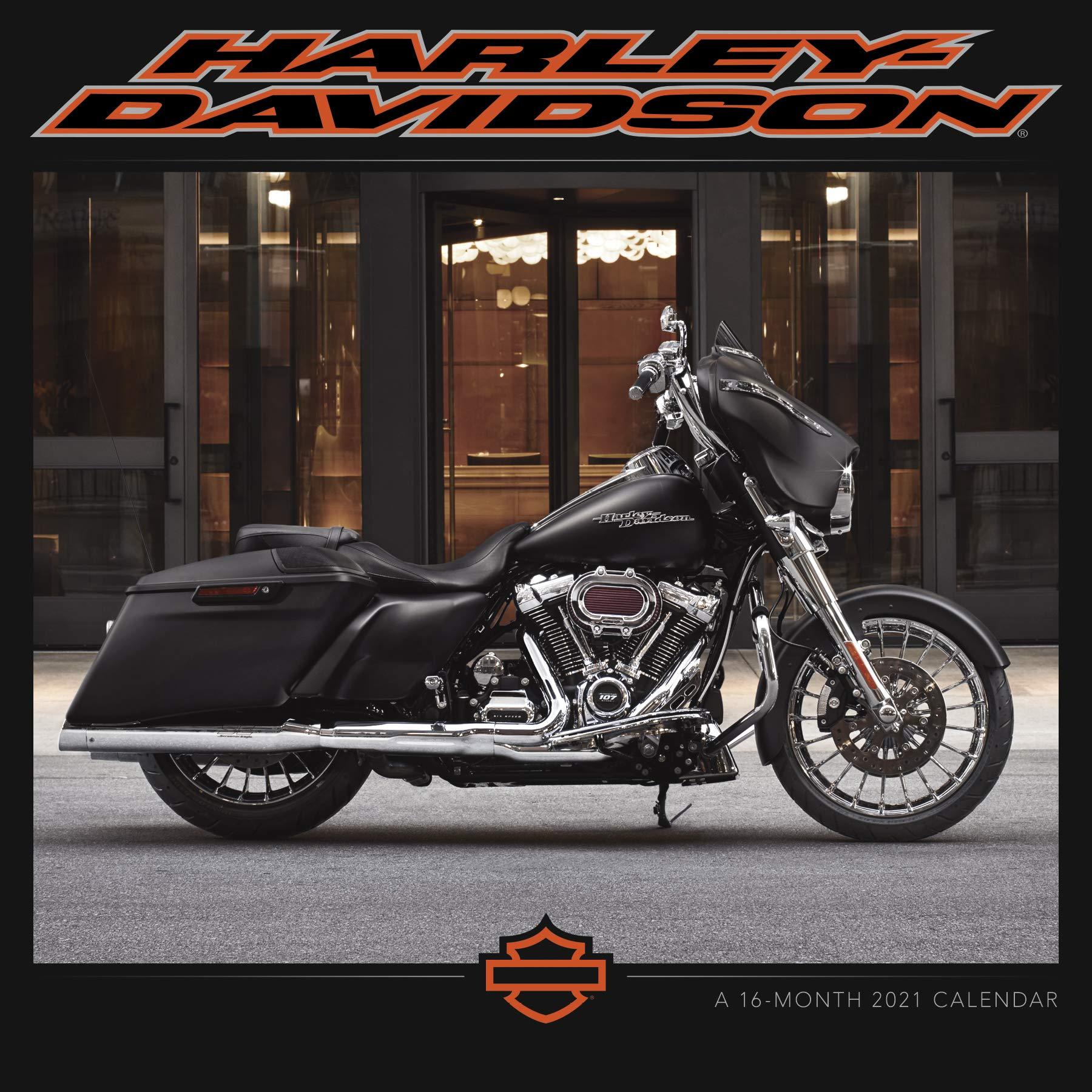 2021 Harley Davidson Wall Calendar: Trends International