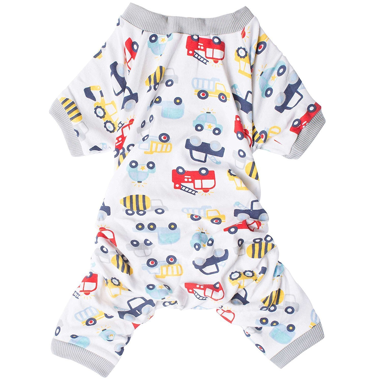 E(Back Length  16\ Christmas Pajamas For Dogs, Dog Clothes Safe Snap Buttons For Small Dog Onesie Pet Pjs