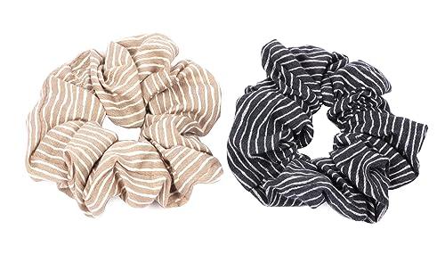 Haargummi Serie 10 Haarband Zopfgummi Haarschmuck Haarteil Zopfhalter aus Stoff