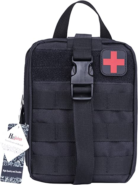 Tactical EMT Medical First Emergency Aid Kit Out Survival Molle Rip-Away Bags B