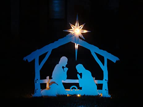 Image result for Finally, the night has come nativity