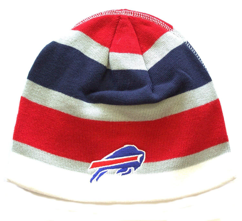 Buffalo Bills Game Dayビーニー帽子スキースカルキャップ蓋Toque   B004168YS4