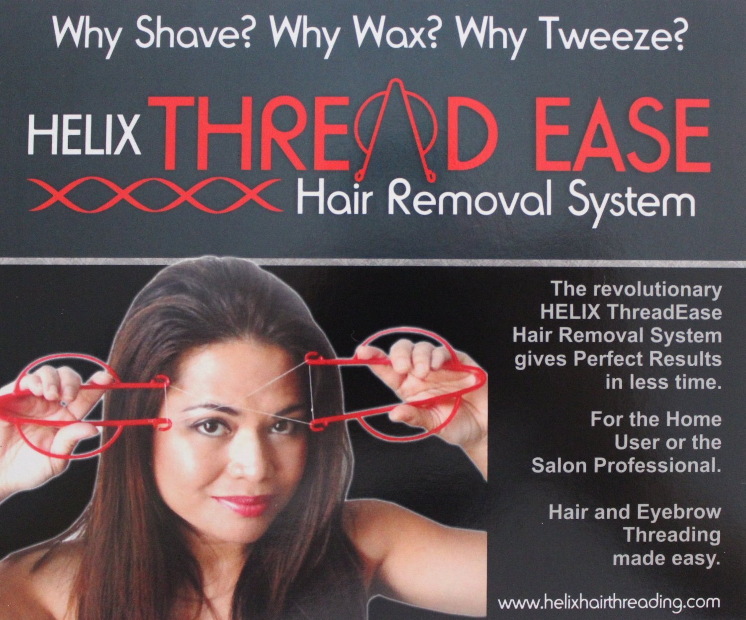 Helix Thread Ease Hair Removal System - Hair and Eyebrow Threading