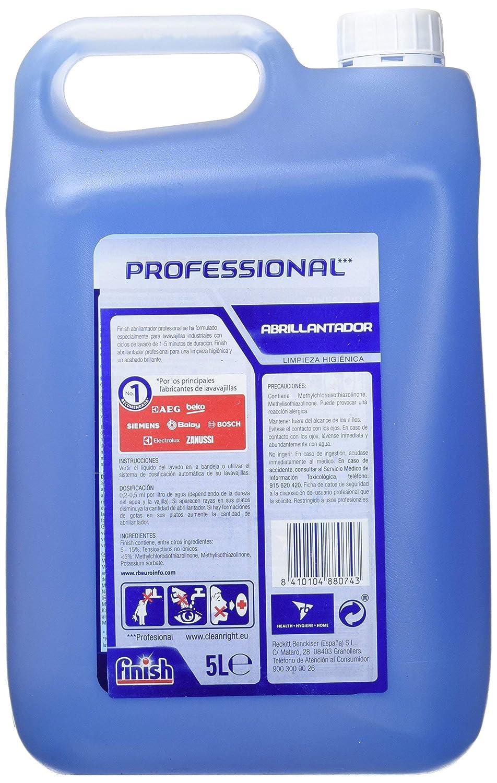 Finish Lavavajillas Abrillantador Professional - 5 L