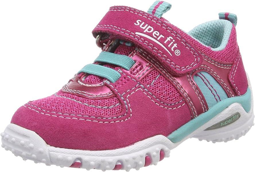 online retailer 14aa9 a4bc9 Superfit Sport4 Mini Baby Mädchen Lauflernschuhe, Rosa (Rosa ...
