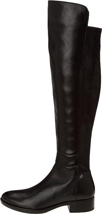 Excelente Ortografía Con otras bandas  Geox Felicity J, Womens Boots, Black (Blackc9999), 3 UK (36 EU):  Amazon.co.uk: Shoes & Bags