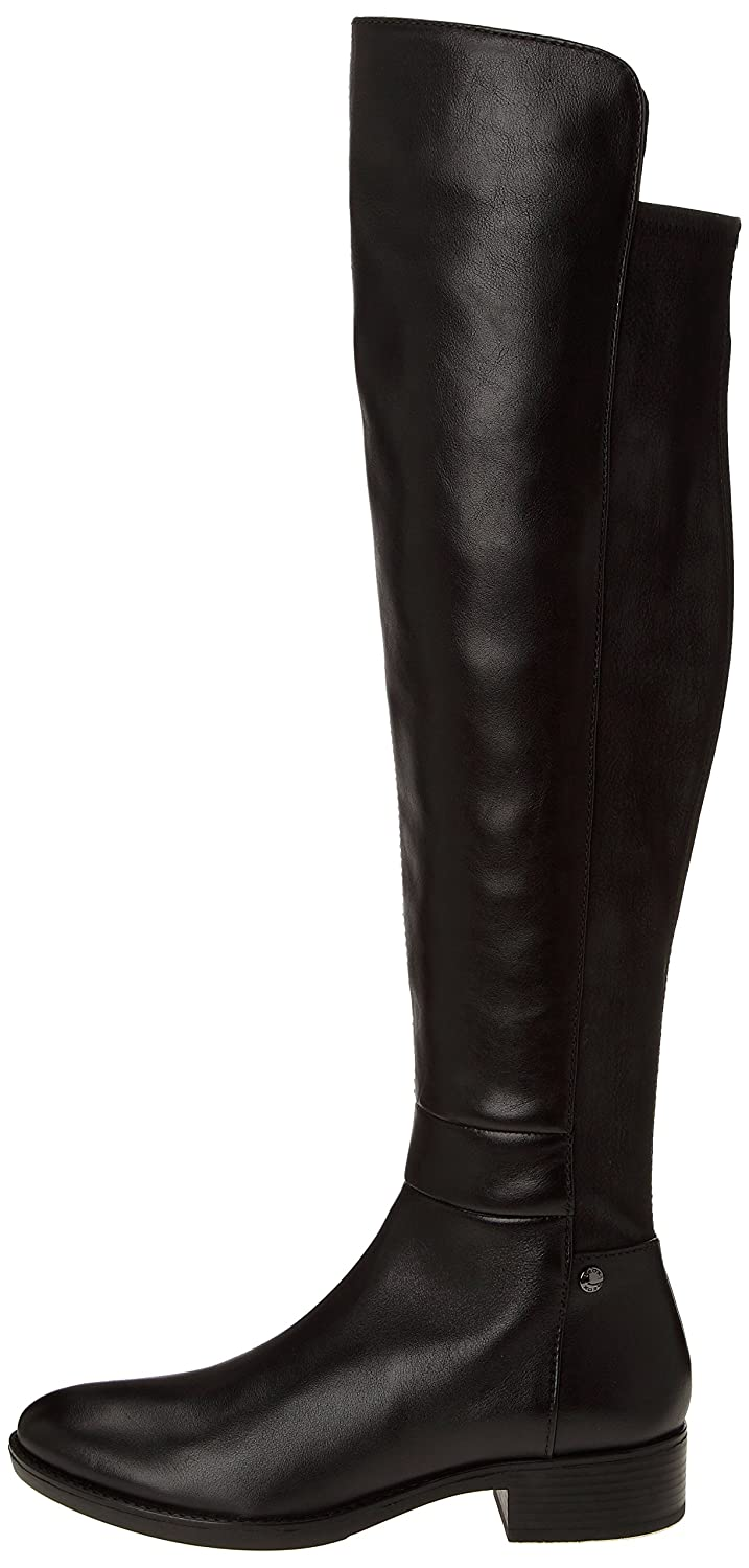 ecf6b25ad0 Amazon.com | Geox Women's Felicity Over-The-Knee Riding Boot | Over-the-Knee