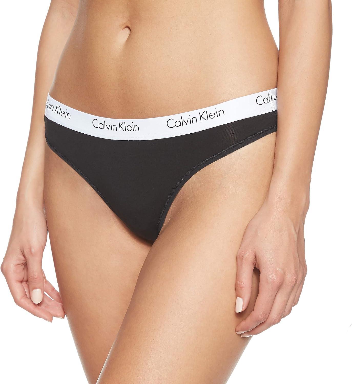 Calvin Klein Tanga (Pack de 2) para Mujer: Amazon.es: Ropa y ...