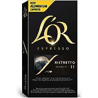 L'Or - Capsule Caffè Espresso Ristretto - Compatibili con Macchine Nespresso® - 50 Capsule in Alluminio - Intensità 11