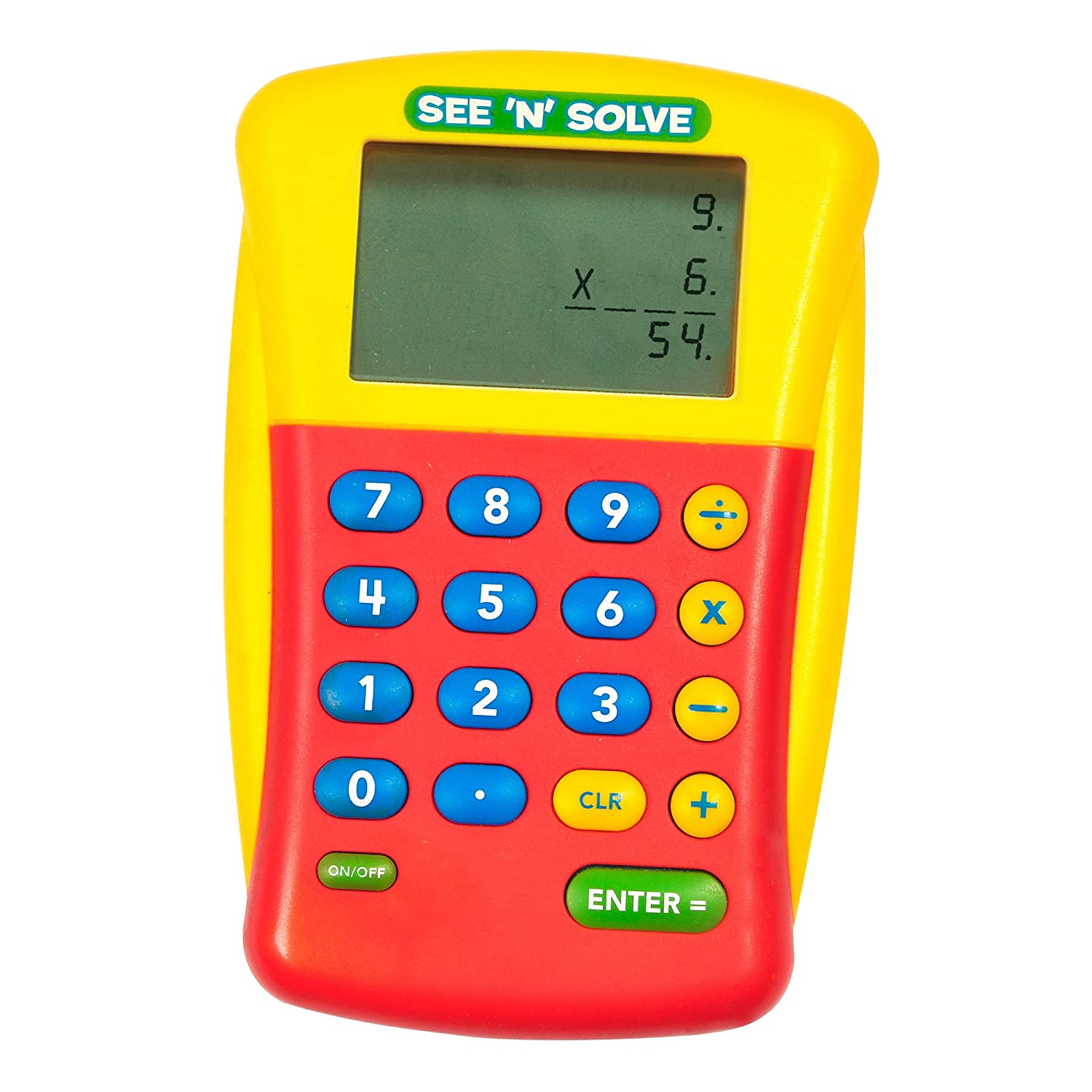 com educational insights see n solve visual calculator  com educational insights see n solve visual calculator office products