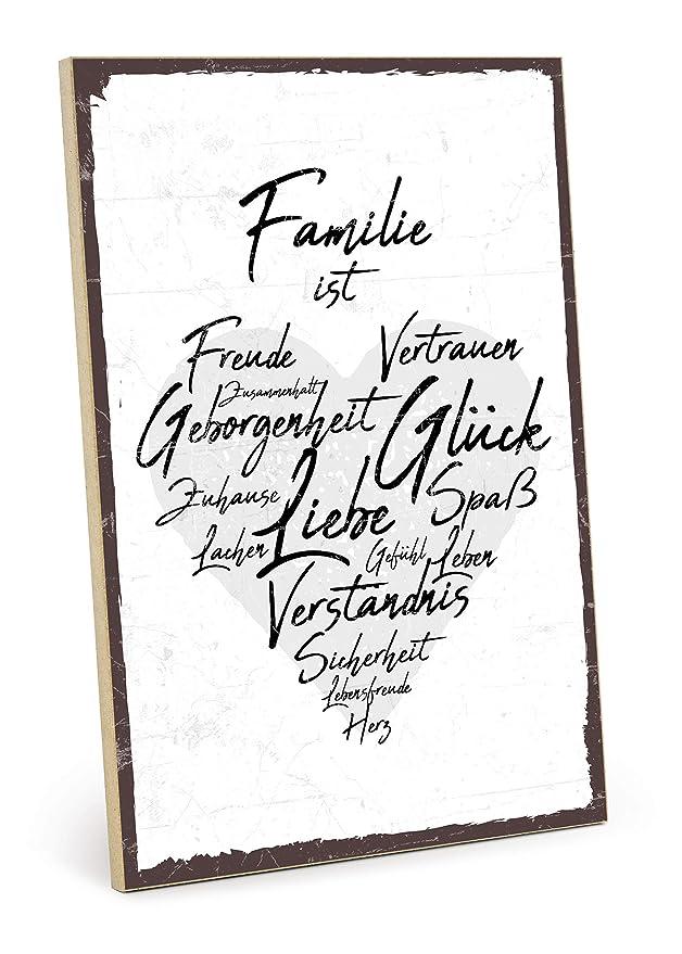 Type plástico Cartel de Madera, Diseño con Texto - Familia ...
