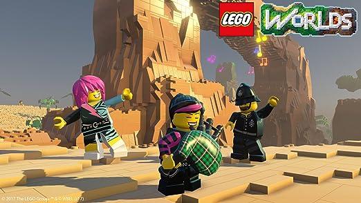 LEGO Worlds - Edición Exclusiva Amazon - PlayStation 4: Amazon.es ...