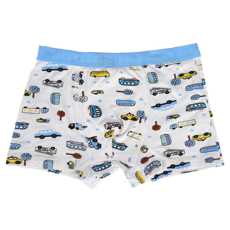 Bala Bala Boy's Boxer Brief Multicolor Underwear (Pack Of 5) (M/Car Underwear, (Pack Of 5)/Car Underwear) by Bala Bala (Image #3)