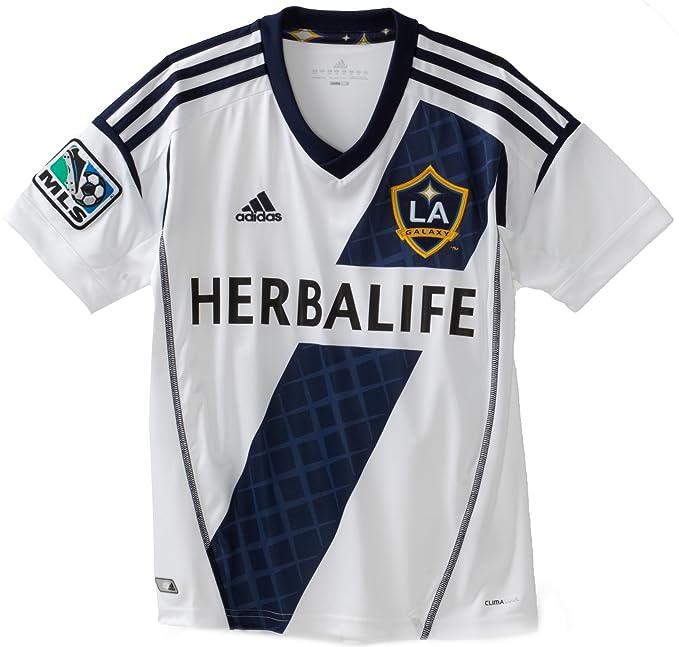 Amazon.com: MLS los angeles Galaxy Youth Replica playera de ...