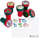 Holiday Stampers (48 Pack) Christmas Stamps Assortment