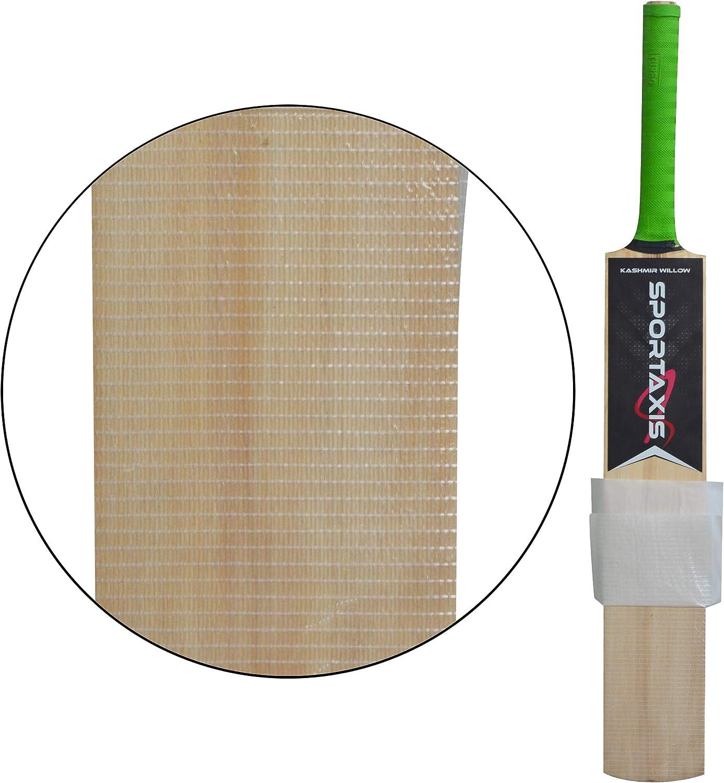 Premium Quality Cricket Bat Anti Scuff Sheet Pack of 2 Bat Protection Sheet Transparent and Clear Bat Sheet SPORTAXIS