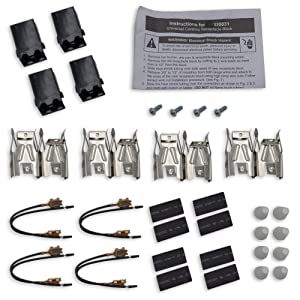 Supplying Demand 330031 Range Receptacle 4 Pack Set Fits WB17X210 5303935058