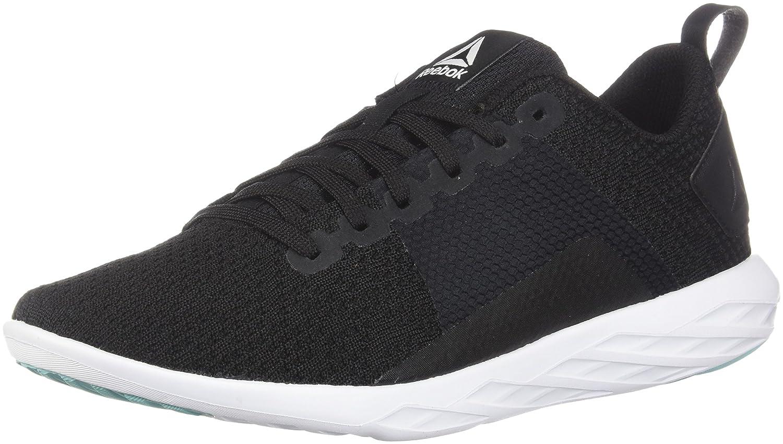 Reebok Women's Astroride Walking Shoe B0774VWS9J 8 B(M) US|Black/Turquoise/White