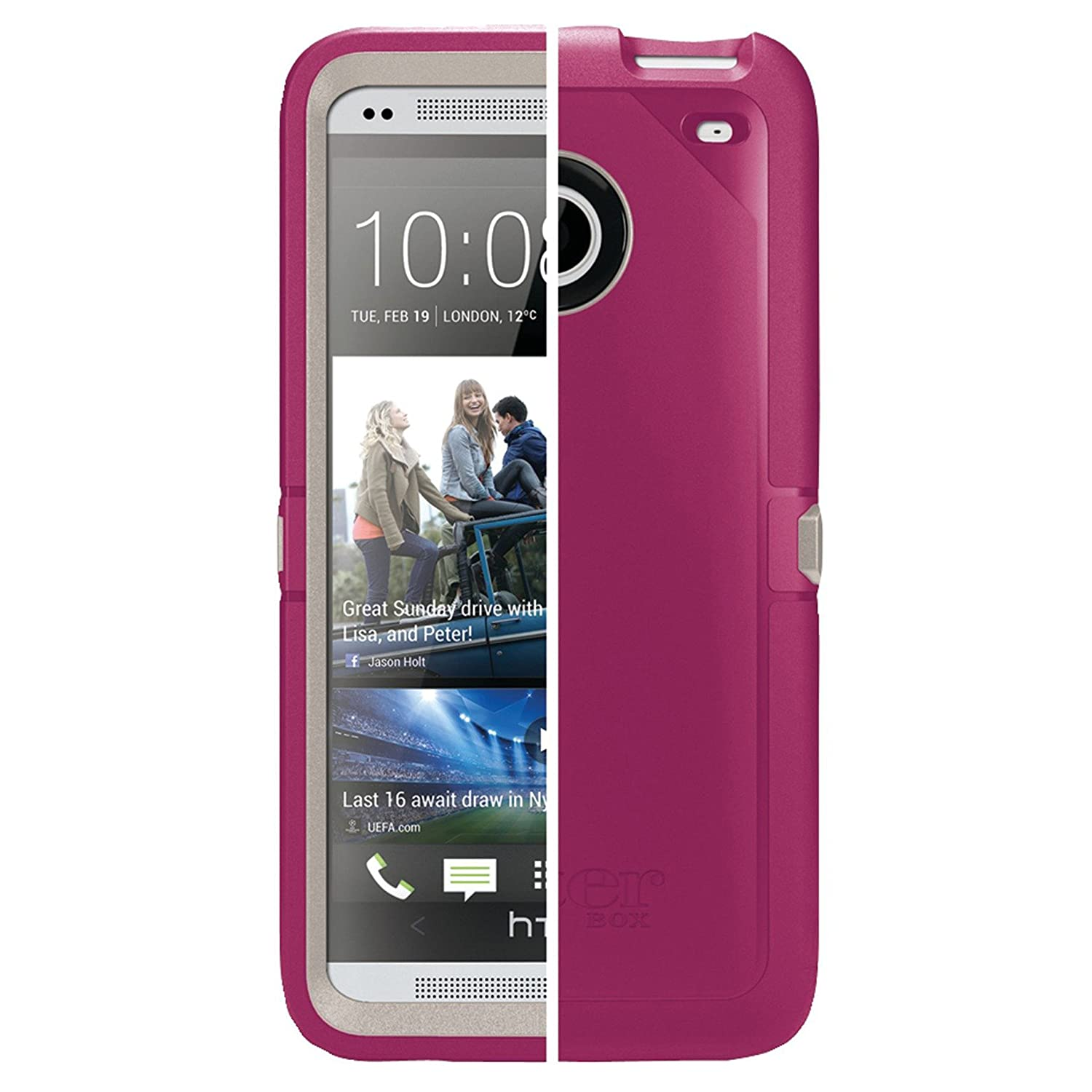 Amazon.com: Otterbox Defender Series – Funda para HTC One ...
