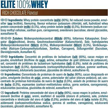 Dymatize Elite Whey Rich Chocolate 2,1Kg - Pulverizador de ...
