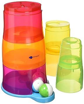 itsImagical Torre de Cubos encajables con Bolas de Colores Imaginarium 87316: Amazon.es: Juguetes y juegos