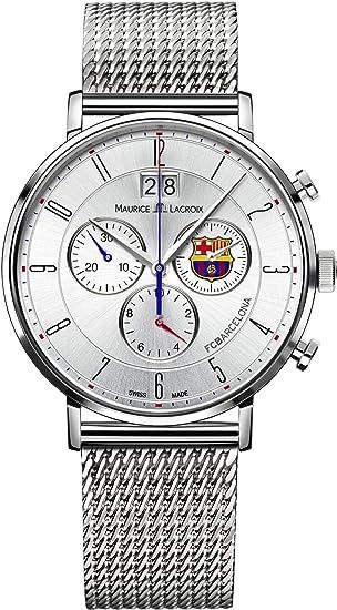Maurice Lacroix Eliros FC Barcelona EL1088-SS002-120 Cronógrafo para  hombres Con pulsera adicional  Amazon.es  Relojes 205017ce4043