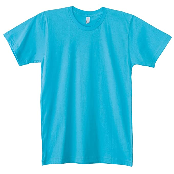 1ee73866ac66c American Apparel - Camiseta lisa básica de algodón super suave de manga  corta Unisex hombre mujer