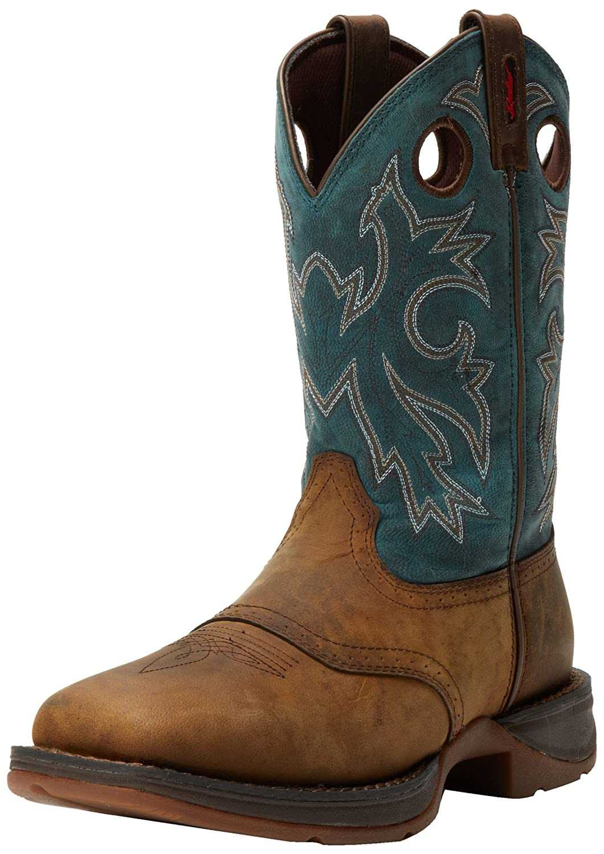 Durango Men's Rebel DB016 Western Boot Men' s Rebel Blue Db016