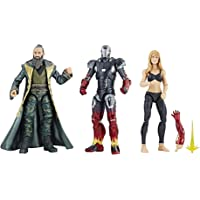 Marvel Figuras Pepper Pots & Iron Man Mark XXII & The Mandarin 10th Anniversary
