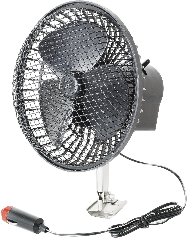 SUMEX 2404015 - Ventilador De Gran Potencia Turbo Fan para Vehículos, 12V (Diámetro 15 Cm, con Rejilla Protectora)