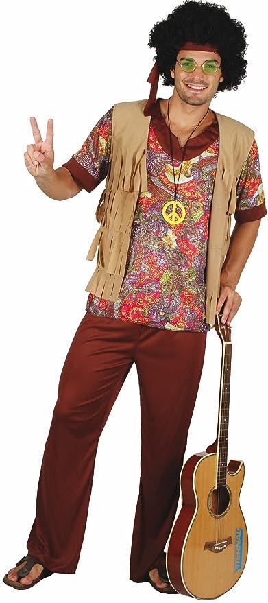 Disfraz de hippie para hombre L