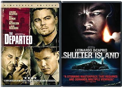 The Departed & Shutter Island DVD 2 Pack Leonardo DiCaprio Double Feature Movie Set: Amazon.es: Cine y Series TV