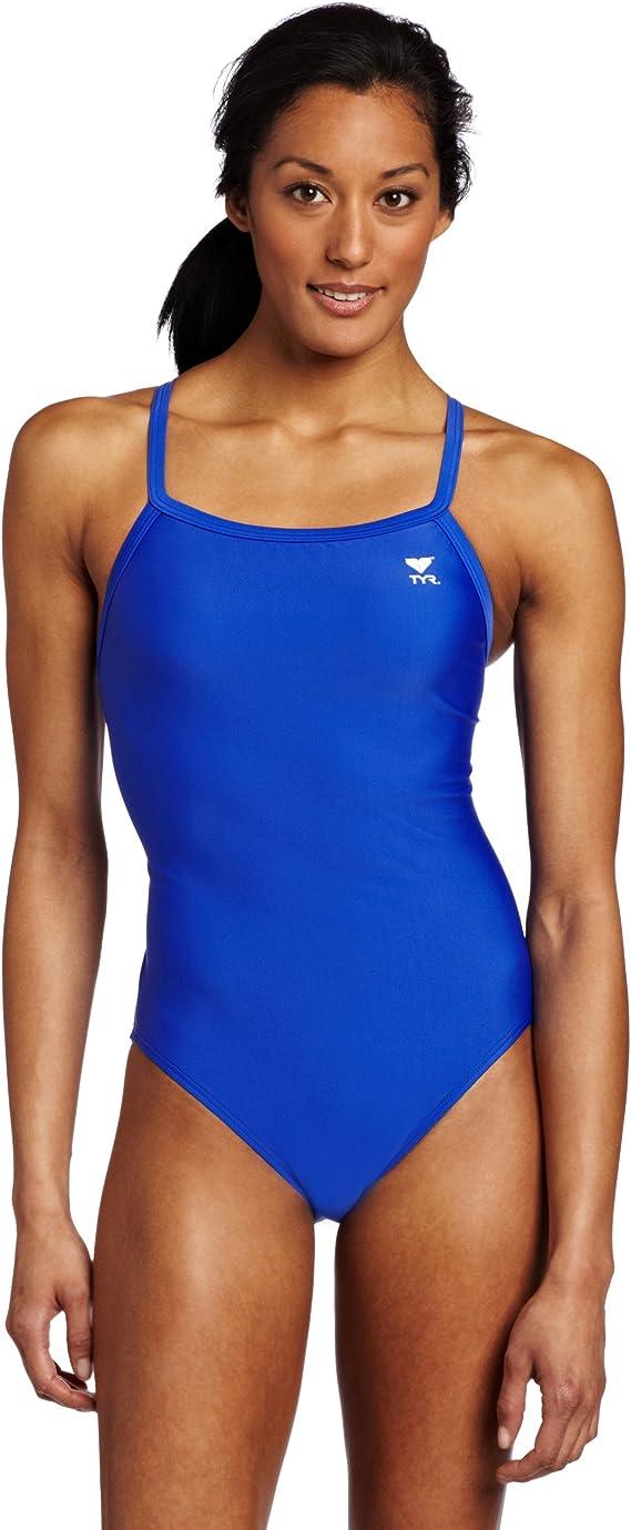 TYR Girls/' Lm Diamondfit Swimsuit