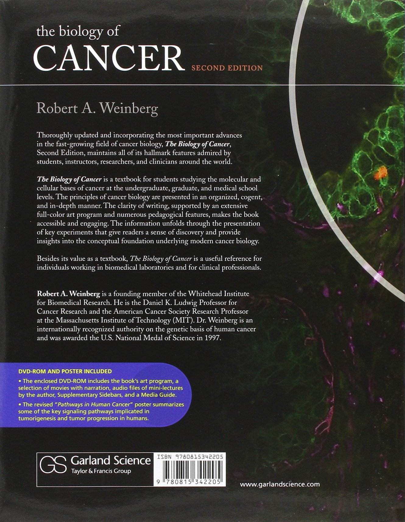 The biology of cancer by robert a weinberg free download.