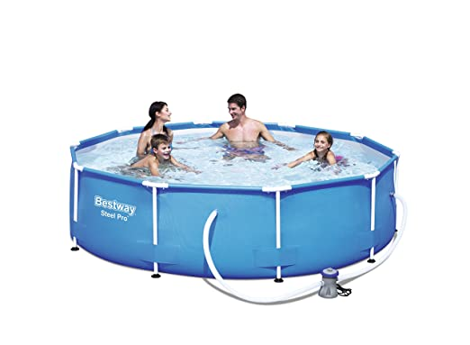 Bestway 56408 Steel Pro - Piscina desmontable tubular, 305 x 76 cm ...