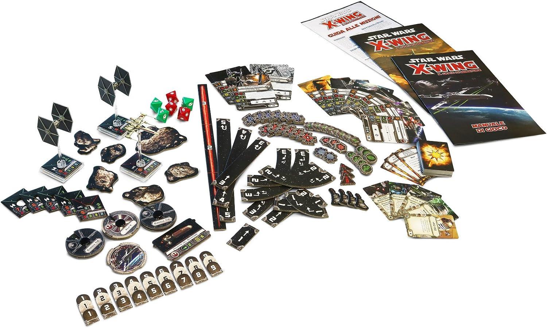 Asmodee Italia 9900 – Star Wars X-Wing el Juegos de miniaturas – Edición Italiana, Color Rojo: Amazon.es: Juguetes y juegos