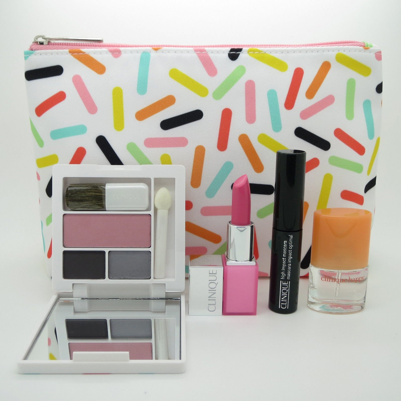 New! Clinique 2016 Fall 5-PC Makeup Gift Set - Pink, Sealed