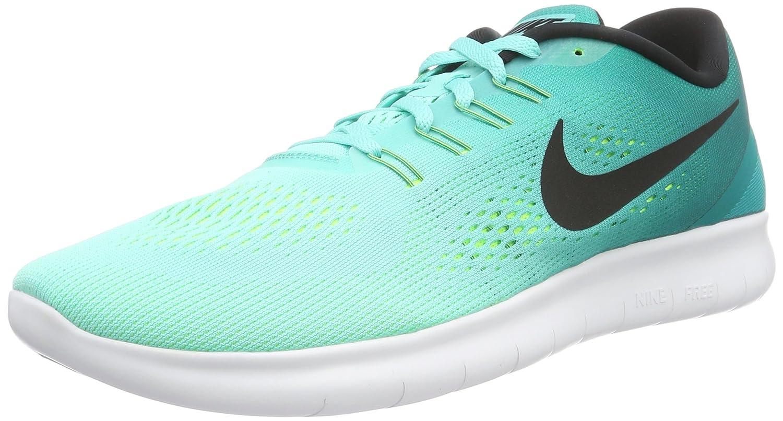 NIKE Men's Free RN Running Shoe B019DH8JDU 12 D(M) US|Hyper Turquoise Blackvolt 300