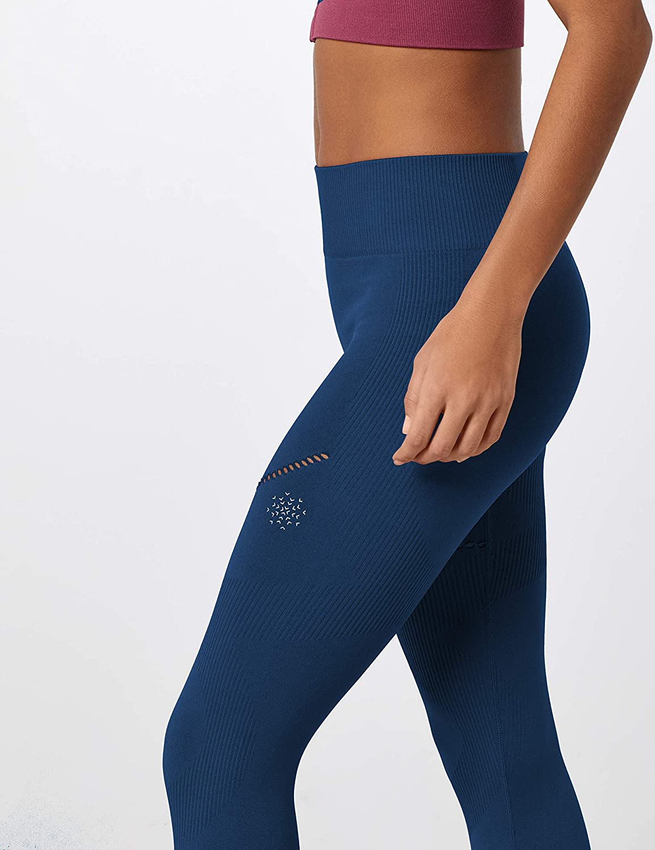 Brand AURIQUE Womens Seamless Sports Leggings