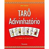 Tarô Adivinhatório: Livro E Baralho Com 78 Cartas Coloridas