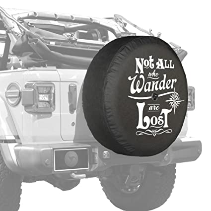 2018 Jeep Wrangler JL U0026 JLU   32u0026quot; Soft Tire Cover   Not All Who