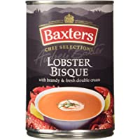 Baxters Lobster Bisque con Licor y Fresh Double