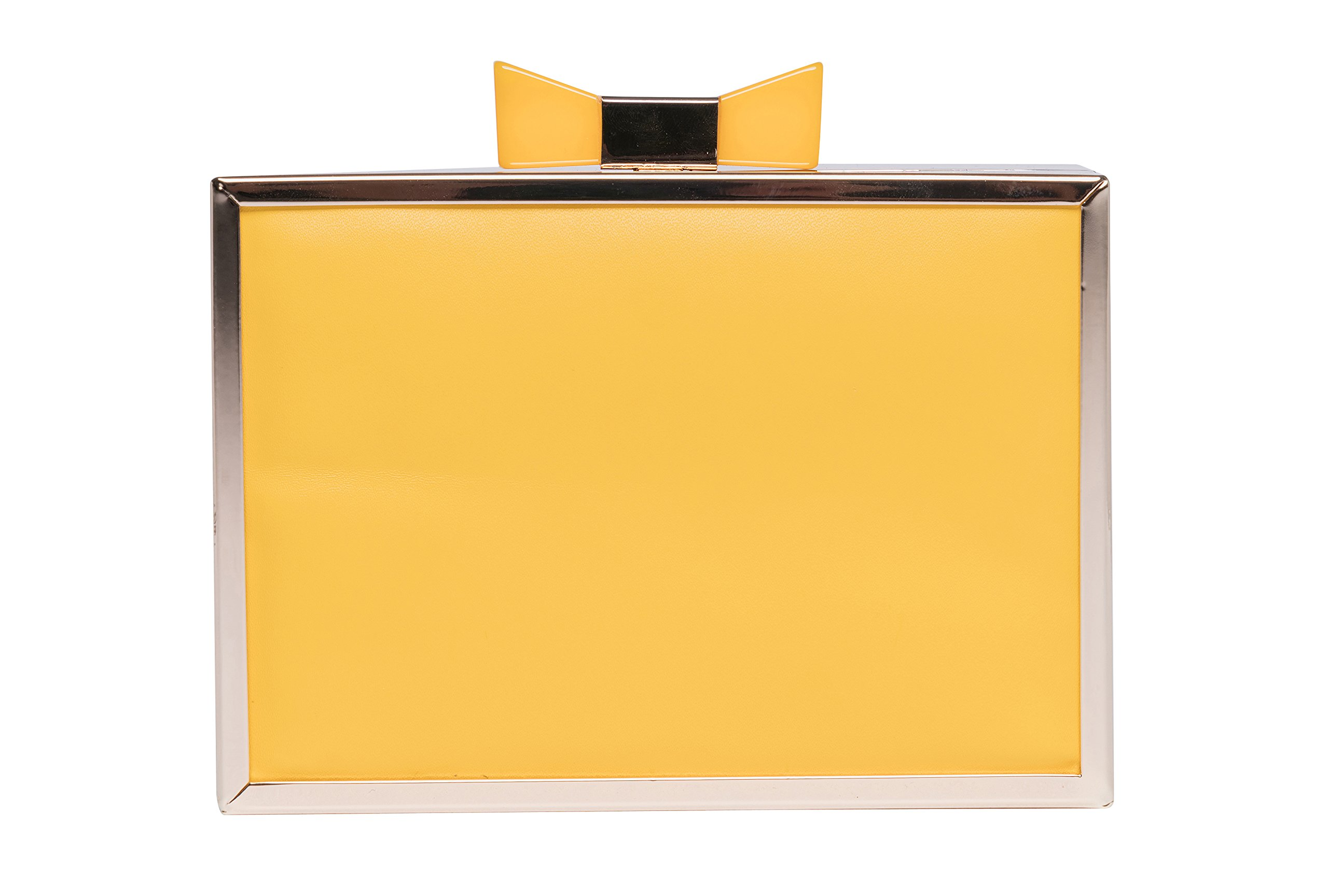 LattLiv Cocktail Purse Cocktail Clutches Acrylic Fashionable Evening Shoulder Bags Ideal Gift for Ladies - Yellow