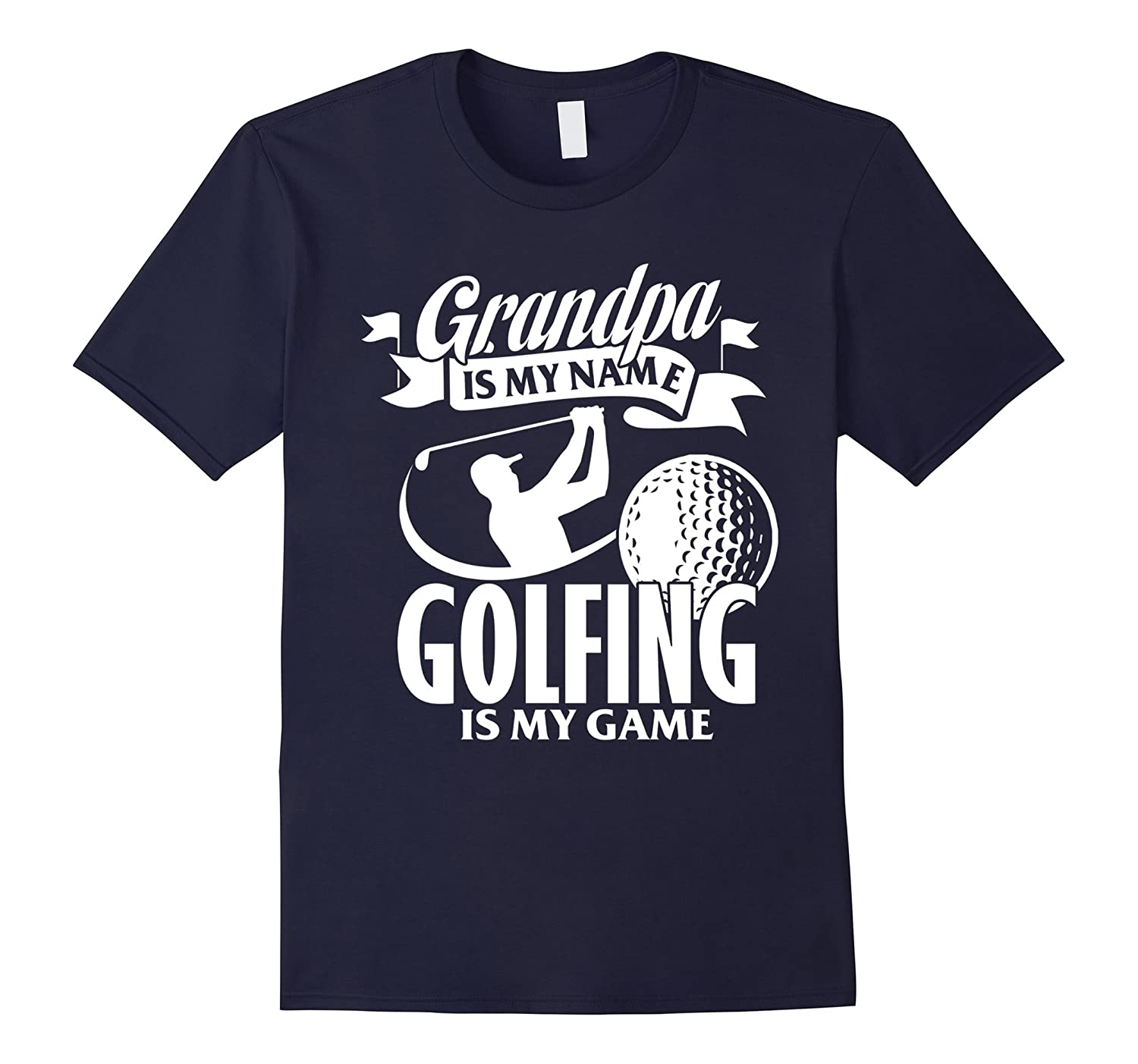 Funny T-Shirt For Grandpa Who Loves Golf Meaning Gift-Vaci