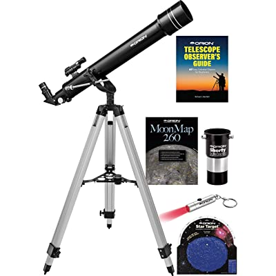 Orion Observer II 70mm Altazimuth Refractor Telescope Kit: Camera & Photo