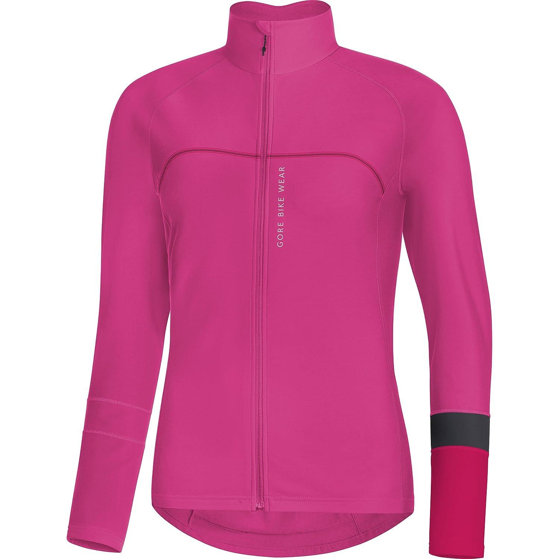 Gore Bike Wear Damen Thermo-Langarm-Rennradtrikot, Gore Selected Fabrics, Power Lady Thermo Jersey, SLAPOW