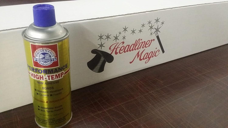 Headliner Magic - High Temp Headliner Trim Adhesive 12 oz Spray Can (1 CAN)
