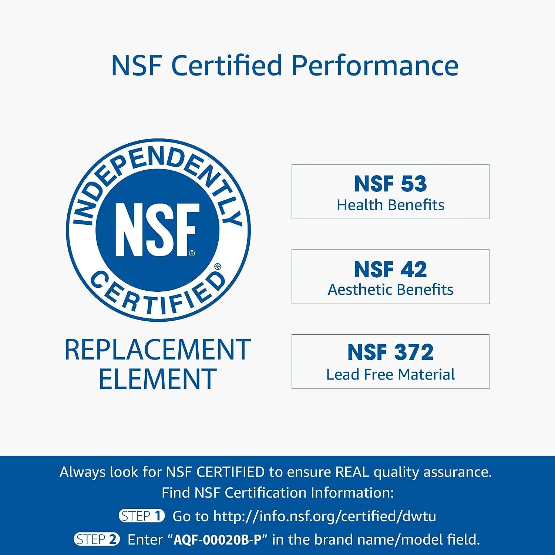 DA-97-08006A//B kompatibel mit Samsung DA29-00020B HAFCIN 46-9101 AQUACREST DA29-00020B NSF 53/&42 K/ühschrank Wasserfilter DA97-08006A-B HAF-CIN//EXP DA29-00019A HAF-CIN DA29-00020A